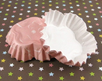 Pretty Sakura Flower Baking Cups