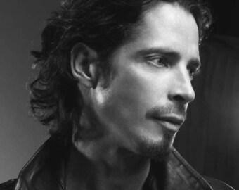 Chris Cornell portrait #4 - Soundgarden, Audioslave, Temple of the Dog, Color OR black & white photo, photograph fine art print