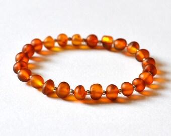 Amber Bracelet, Baltic Amber Stone Cuff Bracelet, Handmade Baltic Amber Jewelry, Gemstone Jewelry