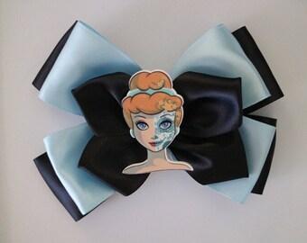 Disney Princess Cinderella Halloween Day of the Dead Hairbow