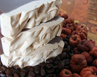 Pumpkin Joe. Coffee and Pumpkin Handmade Soap