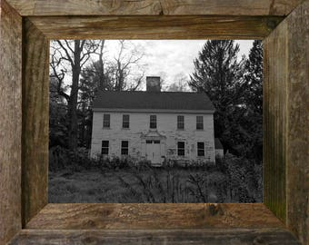 """Old School House - FRAMED - 14"""" x 11"""" FREE SHIPPING"""