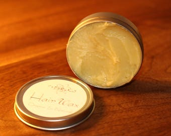 Organic & Natural Hair Wax