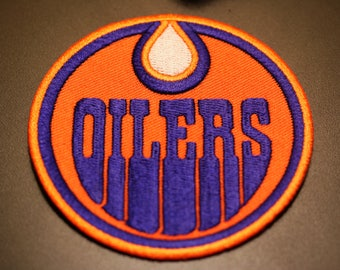 Edmonton Oilers Iron on Patch