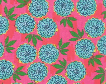 Moda Fabric GOOD KARMA by Stephanie Ryan 1/2 YARD 7211-14 Pink Crush Floral