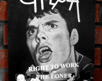 PUNK ROCK, CHELSEA - Right To Work, 1977, Promo Poster/Flyer, A3 Size