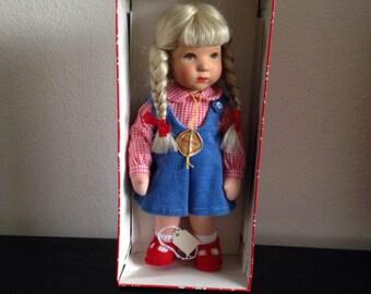 Original Kathe Kruse Doll, Model Hanne Kruse