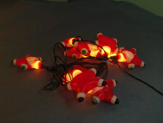 santa christmas light covers for mini lights 10 santas