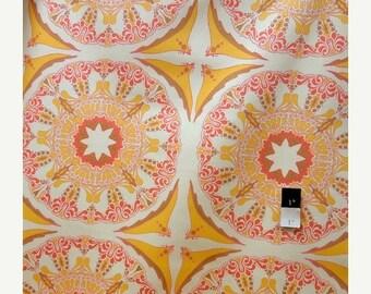 ON SALE Tina Givens SATG001 Lilliput Fields Suzani Mod Sundapple Cotton Home Decor Fabric 1 Yard
