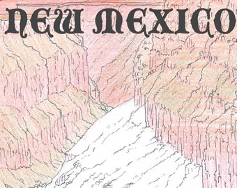 COLORING NEW MEXICO    coloring book