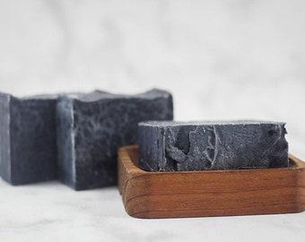 Activated Charcoal Soap - Facial Soap - Charcoal Soap - Natural Soap - Handmade Soap - Acne Soap - Bar Soap - Cold Process Soap