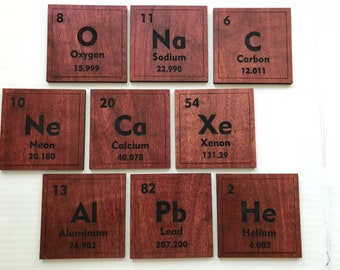 Periodic Table coasters