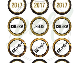 New Years Eve 2017 Party Printables