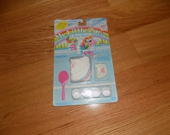 My Little Pony G1 Vintage Pony Luv Costume Pony Wear  MLP SEALED Complete Pony Pack Outfit Ponies Ponys 1980's Tennis