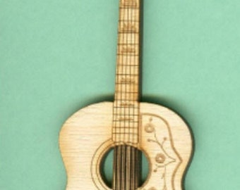 Gibson Folk Guitar (MU-013) - Laser Cut