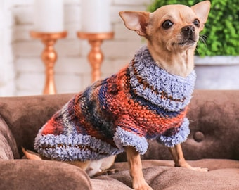 Sweaters for dogs Dog sweaters size xxs Knitt sweaters for dogs Extra small girl dog clothes Swesters for chihuahua Puppies clothes