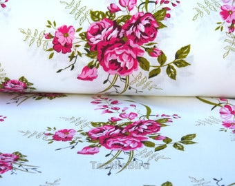 Diana Pink Rose-150 cm wide