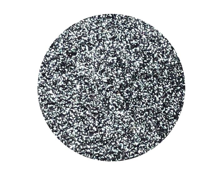 GUNMETAL GLITZ - Pressed Eyeshadow Pigment- Super sparkly gunmetal grey