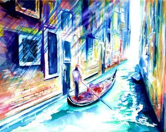 Gondola Painting