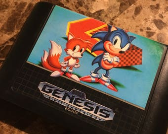 Sega Genesis 1992 Sonic the Hedgehog 2