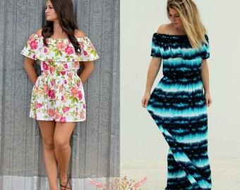 Women's Midsummer Dream PDF Sewing Pattern Sizes XS-XXXL