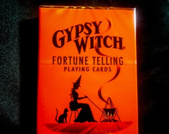 Gypsy Witch Tarot Cards Fortune Telling Playing Cards Divination Foresight Beginners Deck