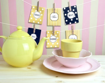 24 Day Tea Advent Calendar - TEArrific Set - Christmas Countdown - Paper Envelope