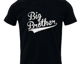 Big Brother Shirt, Big Brothers Baseball shirt - Brothers sibling shirt, BIG Brother T-Shirt, Sibling Shirts, BBSib