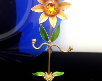 Cute & Kitschy Flower Ring Tree