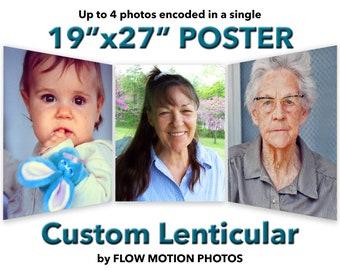 "19""x27"" POSTER - Custom Lenticular"