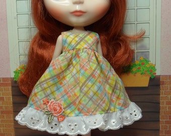 BLYTHE DOLL--Multicoloured dress Only-- No Doll