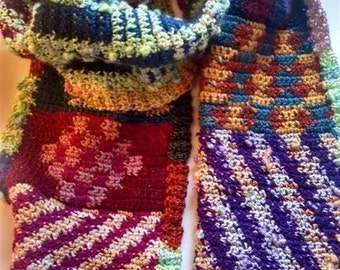 World Tapestry Scarf