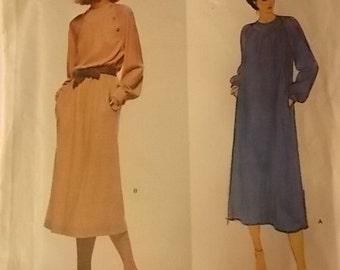 Vintage Vogue American Designer Jerry Silverman Pattern 2073 Size 8