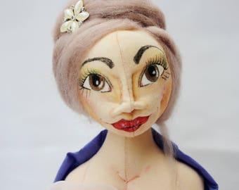 Odette Art Doll Bust Statue