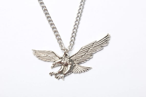 Eagle necklace ancient silver eagle charm eagle jewelrybird eagle necklace ancient silver eagle charm eagle jewelrybird necklaceeagle pendant necklace from wholesaleretail on etsy studio mozeypictures Gallery