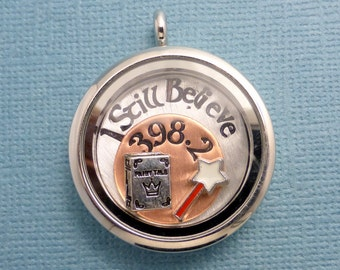 I Still Believe in 398.2 - A Floating Locket / Memory Locket / Living Locket