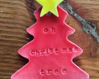 Oh Christmas Tree Ornament