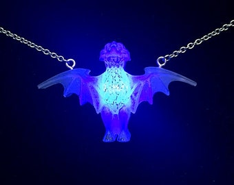 Glowing LED Mansion Bat