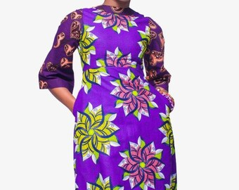 African Print Dress,Ankara Dress,Kitenge dress,African Clothing for Women,Women African Clothing,African dresses for women, African Clothing