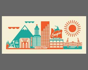 Portland Print