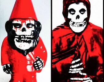 Red crimson ghost