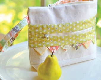 MIRABELLE Notions Bag KIT - Includes Pattern & all Moda Fig Tree Fabric + BONUS of 2 More Patterns !
