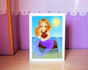 print mermaid reading/mermaid print Reading