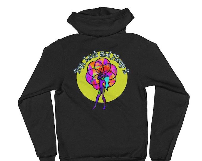 Pop Lock and Hoop It Hoodie sweater// Hula Hoop Gear