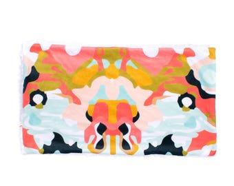 Coral Jubille Blanket, Minky Baby Blanket, Coral Mint Baby Blanket, Mint Baby Blanket, Newborn Blanket, Jubille Blanket, Baby Cloud Blanket
