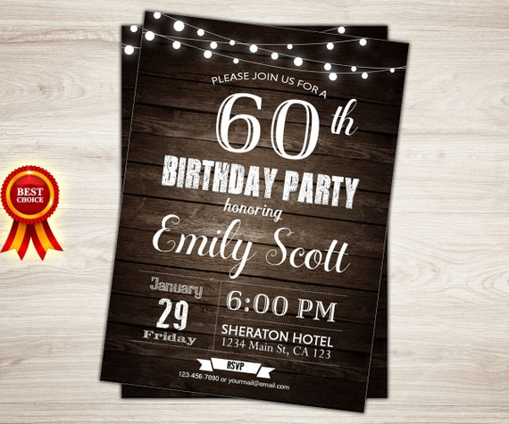 Surprise 60th birthday invitation man surprise birthday party filmwisefo