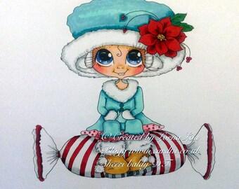 INSTANT DOWNLOAD Digital Digi Stamps Big Eye Big Head Dolls NEW Besties img700 My Besties By Sherri Baldy