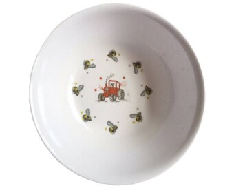 Tractor melamine bowl