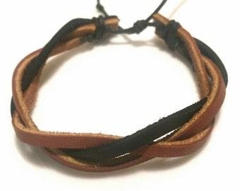 Leather Bracelet Mens Bracelet Girl Teen Girl Gifts Teen Boy Country Girl Women Men Gift Sale Jewelry