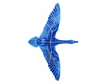 Constellation: Cygnus the Swan Vinyl Sticker